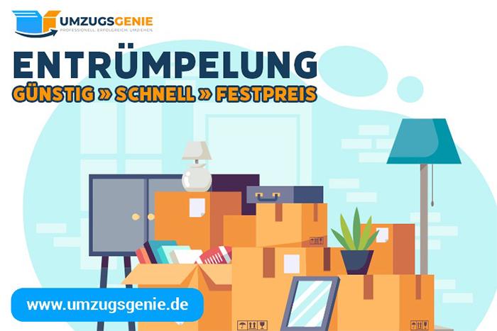 Haushaltsauflösung mit umzugsgenie.de